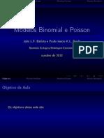 Binomial e Poisson