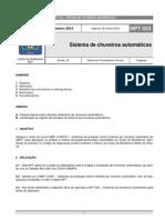 NPT 023-11 - Sistema de Chuveiros Automaticos