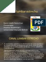 Canal Lumbar Estrecho