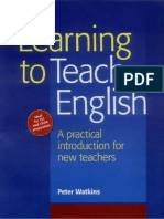 Learning to Teach English - A Practical Introduction for New Teachers