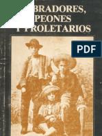 Labradores, Peones y Proletarios - Gabriel Salazar