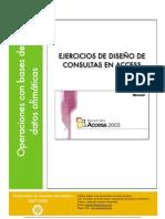 Ejercicios Consultas Access