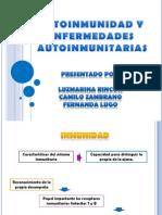 Autoinmunidad y Enfermedades Autoinmunitarias