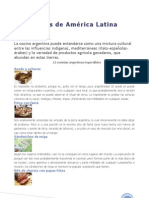 Gastronomia de Paises de Latinoamerica