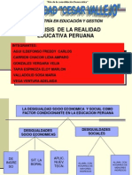 Analisis de La Realidad Educativa Peruana 2