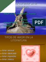 El tema del amor en la Literatura.ppt
