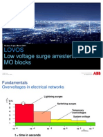 Low Voltage Surge Arresters ABB LOVOS Presentation