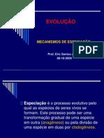 mecanismos de especiação