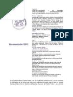 Recomendación 1/2011 de la CDHDF sobre la Supervía Poniente