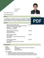 Resume of Izazul Haque