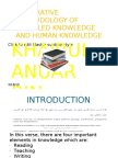 Integrative Methodology of Revealed Knowledge and Human Knowledge
