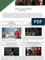 Format Court - Best of Brest