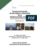 ESTADO SITUACIÓN UP Y E RNO 2005 - 2011