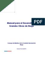 Manual Para El Desarrollo de Grandes Obras de Riego Version 14 Abril 2011