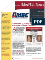 UA OMSE Med/Ed eNews v1 No. 06 (MAR 2013)