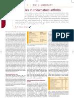 Autoantibodies in Rheumatoid Arthritis
