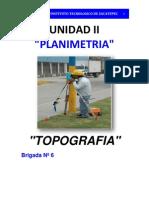Topografia Unidad II