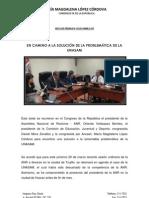 Nota de Prensa N5 2013