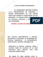 Gestion Empresariial.. Documental
