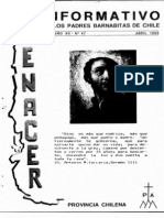 Renacer no. 47 -  Abril 1989