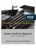 Asian Conflicts Report 1-1