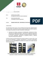 Inspeccion Del Programa de Gestion Del Riesgo Quimico.