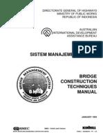 Bridge Construction Techniques Manual