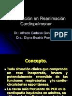 Actualización en Reanimación Cardiopulmonar