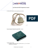 CARPROG Motorola HC05 Programmer Manual