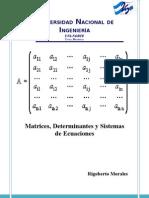 Unidad I Matrices ,Determinantes