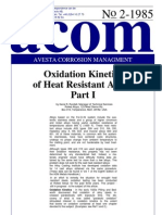 Acom85_2 Oxidation Kinetics of Heat Resistant Alloys Part I+II