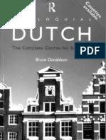 Colloquial Dutch a Complete Language Course