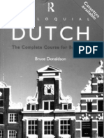 Colloquial Dutch a Complete Language Course