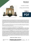 Palestine Media Release