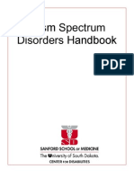 Autism Spectrum Disorders Handbook