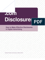 FTC's How to Make Effective Disclosures 
