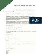 Caracteres Comodín y Expresiones Regulares para Linux