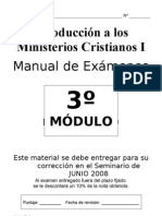 Examen MC I MOD 3 Preguntas