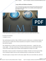 IMF's Epic Plan to Conjure Away Debt and Dethrone Bankers