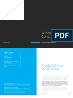 Windows 8 Consumer Preview Product Guide for Business