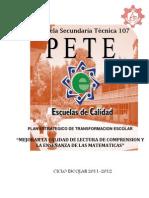 PETE 2011-2012
