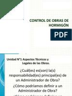 Control de Obras de Hormigon en Chile