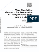 New Oxidation Process for Production of Terephthalic Acid From p Xylene