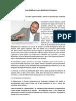21-02-2013 Hoy Ricardo Villanueva Detalla Proyecto de JAS en El Congreso