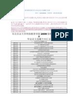 148.09秋季班在职专升本毕业论文选题汇总表