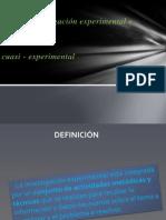Diseño experimental y cuasiv
