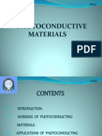 seminar on photoconductive materials