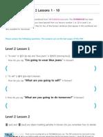 TTMIK Workbook Level 2 Lesson 1~ 10