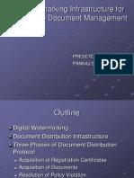 Digital Watermarking