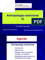 10 Decima Clase Antropologia Nutricional(i) 10oct12